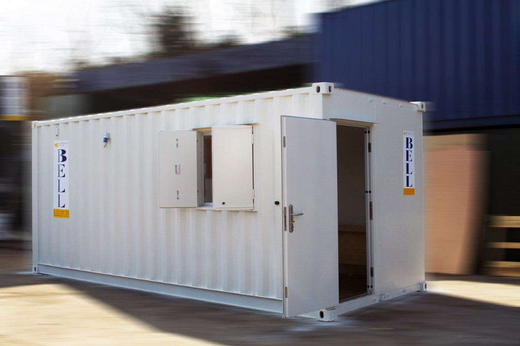 pop up office container - container conversions