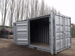 container conversion - Red 20'ft (post mod)