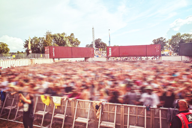 shipping container hire - events and concerts